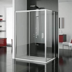 paroi vitree prix moyen des parois pour douche italienne With porte de douche coulissante avec architecte interieur renovation salle de bain