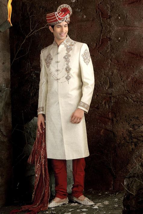 Indian Wedding Dress For Men ~ Indian Wedding Dressmen Grooms ... | wedding dress for mens ...
