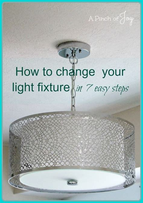 How To Change A Bathroom Light Fixture by How To Change Light Fixtures In 7 Easy Steps A Pinch Of