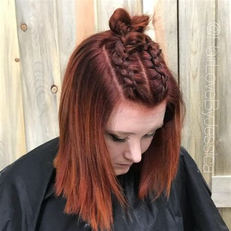 top  trending copper hair color shades trending