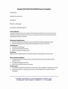 tefl resume english tutor cv sample myperfectcv total With tefl cover letter example