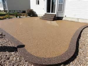 installing river rock coatings pebble patio floor pebble patio floor in pebble floor style