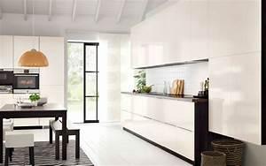 Cuisine Blanche Ikea : les cuisines ikea le blog des cuisines ~ Preciouscoupons.com Idées de Décoration