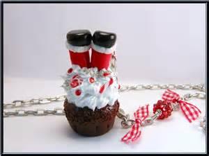 collier sautoir g 226 teau chocolat cupcake papa no 235 l en p 226 te fimo plan 232 te fimo