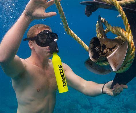 scorkl handheld scuba tank gearnova