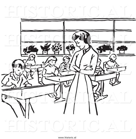 classroom clipart black and white students in class black and white clipart clipground
