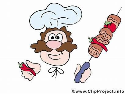 Koch Comic Clipart Essen Kok Cartoon Cliparts