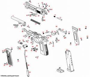 Beretta 92fs Diagram