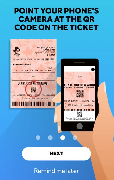 scan lottery tickets at home tap the app camelot