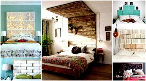 diy bedroom decorating ideas on a budget 41 diy headboard projects that will change your bedroom design