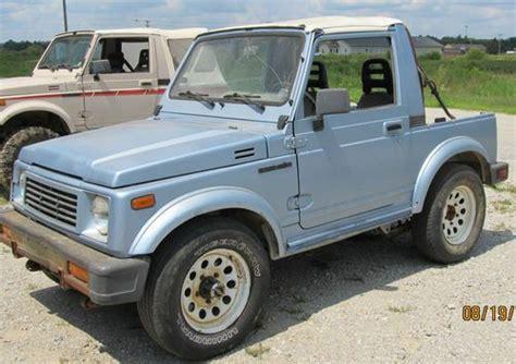 Suzuki Samurai Parts by Find Used 1988 Suzuki Samurai 4 X 4 And 1987 Suzuki