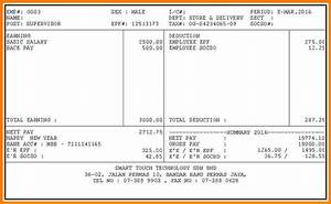 6 payslip template malaysia sales slip template for Payslip template malaysia