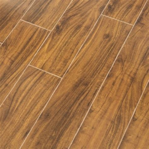 15mm Sapporo Walnut V Groove Laminate Flooring