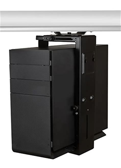 Adjustable Desk Cpu Holder by Cpu Desk Mount Computer Tower Holder Adjustable