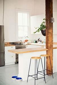 Petit Bar Cuisine : planche bar pour cuisine americaine cuisine en image ~ Teatrodelosmanantiales.com Idées de Décoration