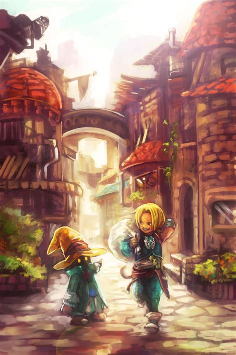 Enjoy the chocobo as your mobile wallpaper with chocobo wallpaper. Fond D écran Final Fantasy 9