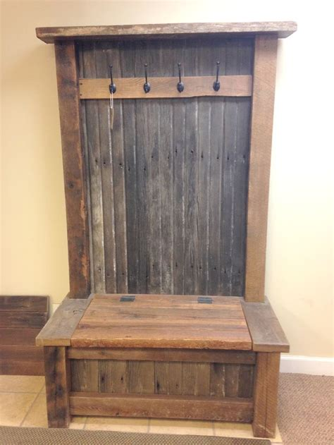 rustic hall tree furniture perfect   mud room