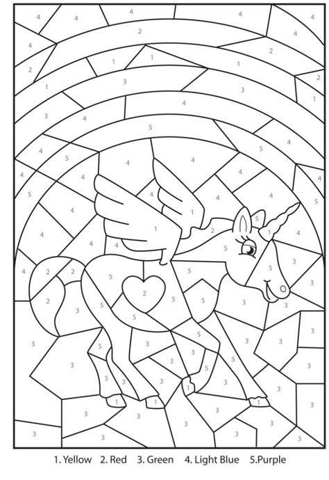 coloring pages  printable magical unicorn colour