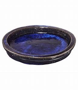 Blumentopf Untersetzer 70 Cm : keramik untersetzer dang f r blumentopf rund blau dehner ~ Orissabook.com Haus und Dekorationen