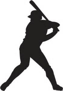 Baseball Player Silhouette Clip Art