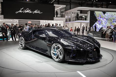 Bugatti La Voiture Noire Is A .5m One-off Inspired By