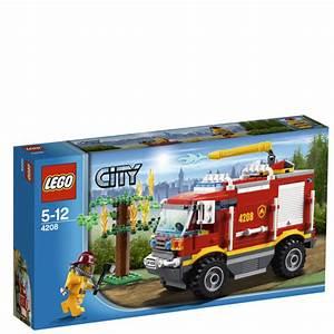 LEGO City: 4x4 Fire Truck (4208) Toys Zavvi com