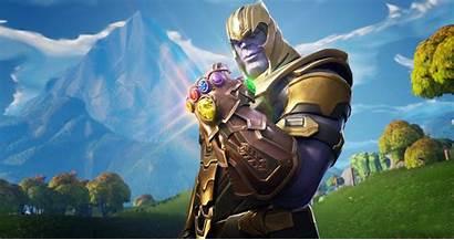 Fortnite Thanos Royale Battle Wallpapers 4k Games
