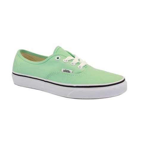 vans light up shoes vans authentic tsv8gc womens canvas laced trainers shoes