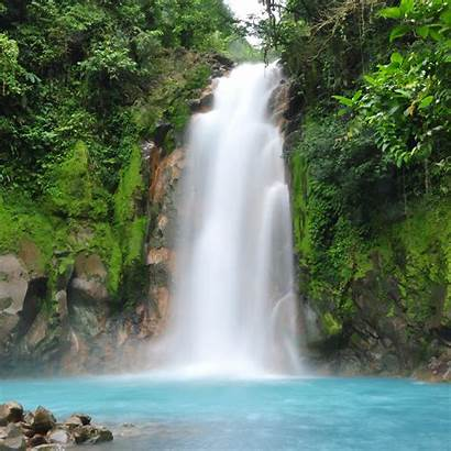 Waterfall Costa Rica Wallpapers Cool Background Backgrounds