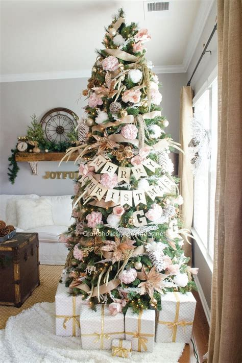 pink christmas trees  love southern living