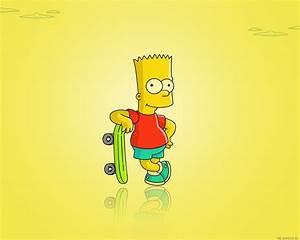 Bart Simpson Hd Wallpaper - impremedia net