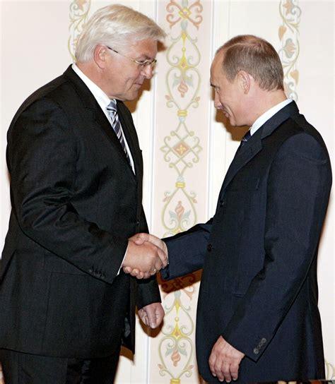 Ist Stets Gern Zu Diensten by Eu Sanktionen Und Russland Auch Steinmeier Muss Putin