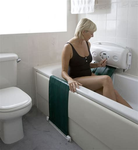 wheelchair assistance sonaris reclining bath lift