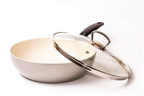 ceramic  teflon  handy guide nonstick pans shop
