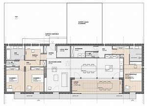 Maison Architecte Plain Pied : maison d 39 architecte plain pied recherche google maison pinterest maison plan maison et ~ Melissatoandfro.com Idées de Décoration