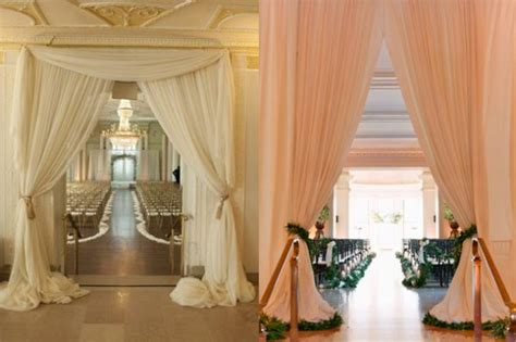 having ceremony and reception in same room