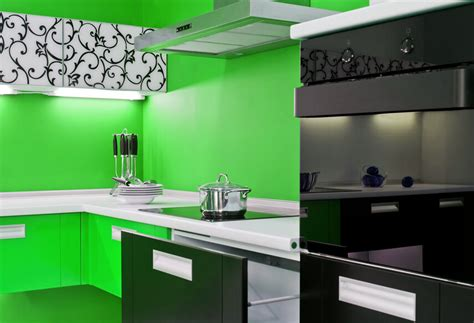 Green Kitchen Cabinets With Black Appliances by 13 Fantastic Kitchens With Black Appliances Pictures