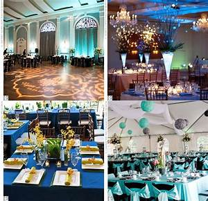 Idee Deco Salle De Mariage : d co de salle de mariage bleue mariage id es ~ Teatrodelosmanantiales.com Idées de Décoration