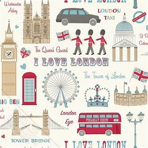 London kids wallpaper - Funkywalls - Dé webshop voor
