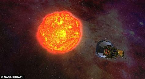 nasa sending spacecraft   suns upper atmosphere