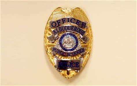 police badge albuquerque public schools