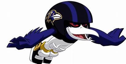 Ravens Baltimore Nfl Mascot Clip Raiders Zone