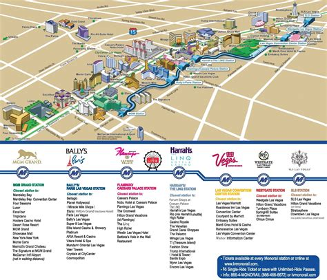 las vegas strip hotels and casinos map vegas las vegas
