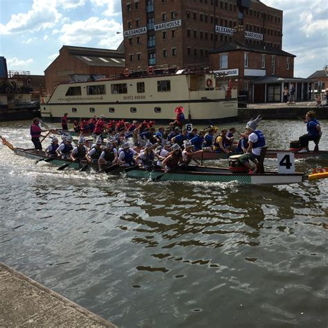 Dragon Boat Racing Gloucester 2018 by Congratulations To The Hazlewoods Sharks