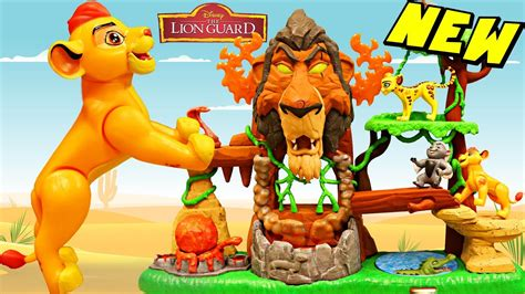 The Lion Guard Rise Of Scar Playset And A Lion Hunt