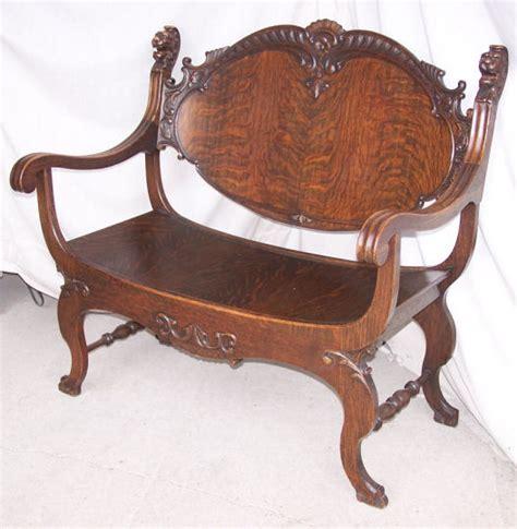 bargain johns antiques antique oak parlor set
