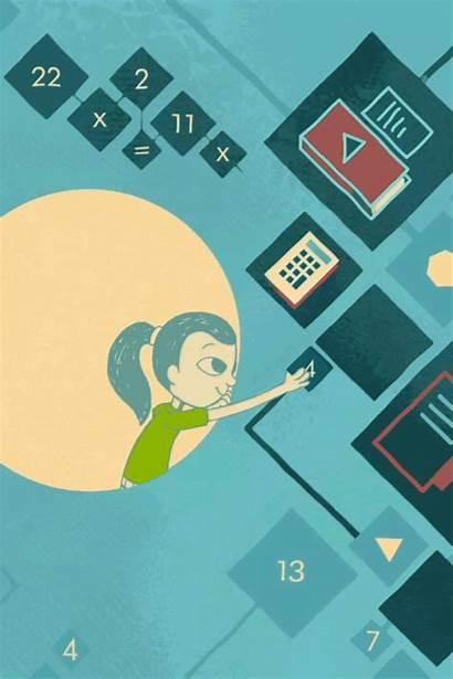 Future Classroom Education Science Animation Animated Illustration