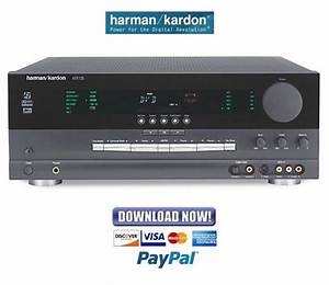Harman Kardon Avr125 Service Manual  U0026 Repair Guide