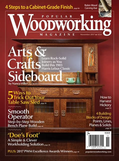 popular woodworking magazine nov
