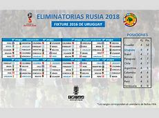 Partidos de uruguay en el 2016 por la eliminatoria rumbo